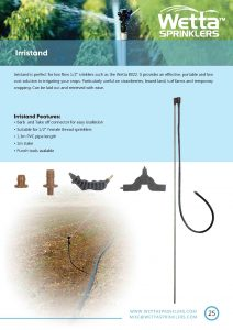 Irristand Brochure